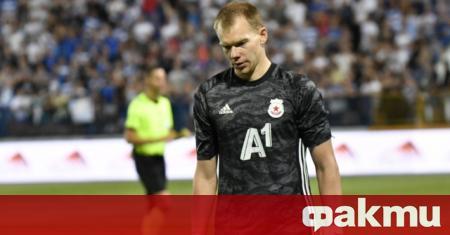 Вратарят Витаутас Черниаускас приключи с ЦСКА. Той се разделя с