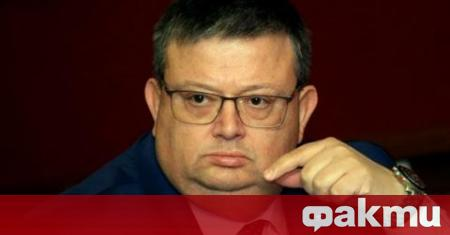 Председателят на КПКОНПИ Сотир Цацаров написа писмо до шефа на