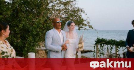 Дъщерята на покойния актьор Пол Уокър - Медоу, се омъжи