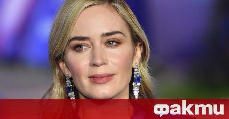 Актрисата Емили Блънт обяви, че няма интерес към роли във