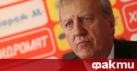 Бившият президент на ЦСКА Александър Томов коментира пред