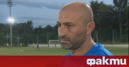 Бившият футболист на Левски и националния отбор Илиaн Стоянов от