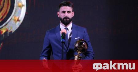 Футболист №1 на България за 2019 година Димитър Илиев даде