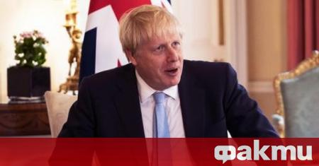 Британският премиер Борис Джонсън каза снощи, че не желае въвеждането