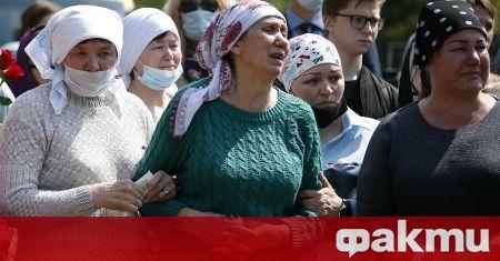 Сутринта на 11-и май в Казан въоръженият с огнестрелно оръжие