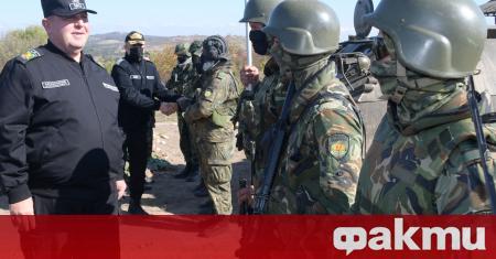"""""""Учението на Сухопътните войски """"Балканска стена - 2020"""", което се"""