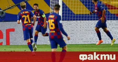 Барселона срази Наполи с 3:1 на