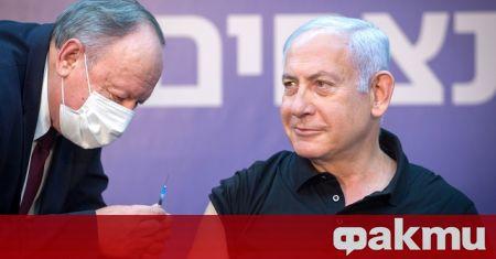 Израелските власти представиха графики, показващи рязко намаляване на заразените с