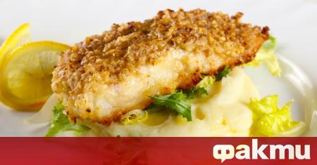 Филе от риба с хрупкава коричка е чудесно ястие, не