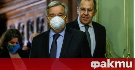 Руският министър на външните работи Сергей Лавров призова за спешна
