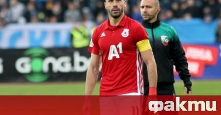 Капитанът на ЦСКА Петър Занев беше много разочарован след мача