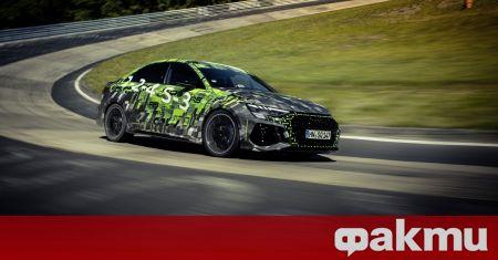 Audi представи новата генерация RS3 преди няколко седмици, а още