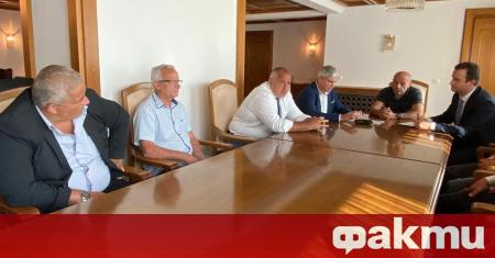 Министър-председателят Бойко Борисов проведе среща с президента на КНСБ Пламен