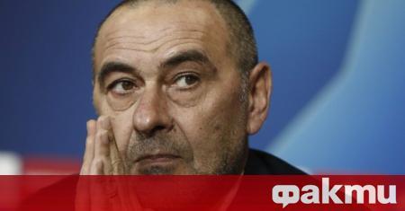 Треньорът на Ювентус Маурицио Сари стана поредният футболен човек, който