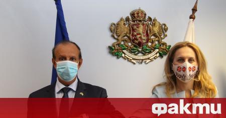 Вицепремиерът и министър на туризма проведе работна среща с Н.Пр.