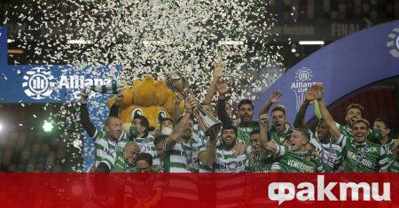 Отборът на Спортинг Лисабон надигра Брага с минималното 1:0 и