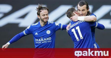 Манчестър Юнайтед изненадващо загуби у дома от Лестър с 1:2