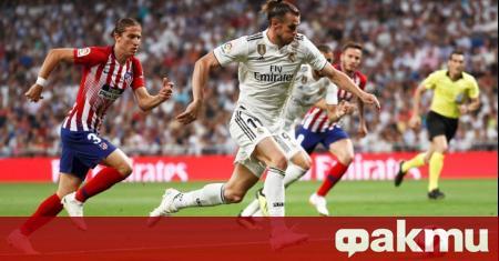 Скъпоплатената звезда на Реал Мадрид Гарет Бейл отново прикова вниманието