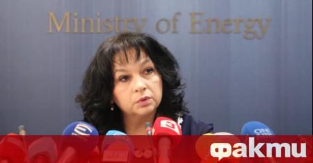 Министърът на енергетиката Теменужка Петкова е провела телефонен разговор с