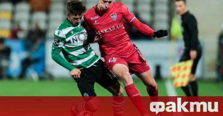 Българският национал Божидар Краев вкара първия си гол за Фамаликао