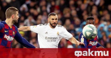 Нападателят на Реал Мадрид Карим Бензема е готов да се
