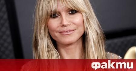 46-годишната немска телевизионна водеща, актриса и супермодел Хайди Клум сподели