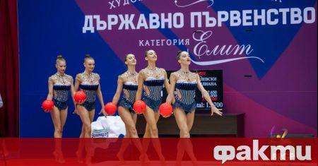 Олимпийският шампион България спечели титлата в многобоя при ансамблите на