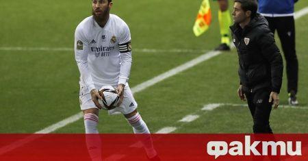 Превърналият се в икона за Реал Мадрид Серхио Рамос на