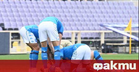 Наполи продължава успешно борбата за място в Шампионска лига след