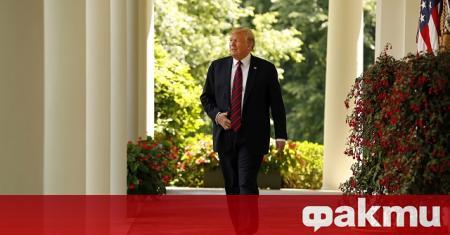 Президентът на САЩ Доналд Тръмп заяви в сряда, че в