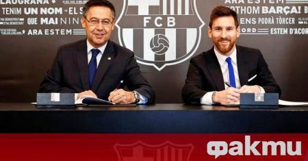 Звездата на Барселона Лионел Меси ще завърши кариерата си в
