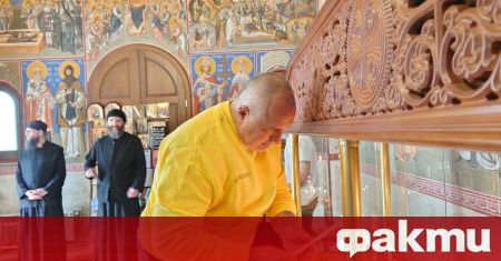 Набожният премиер в оставка Бойко Борисов публикува кратък коментар в