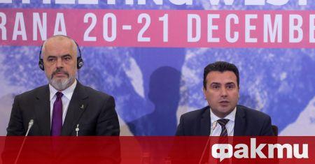 Албания и Северна Македония обявиха договор за общ граничен и