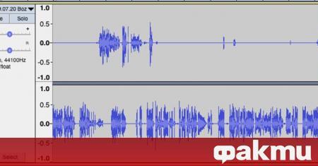 Професионално занимаващият се с обработка на аудиофайлове Симеон Христов, засече