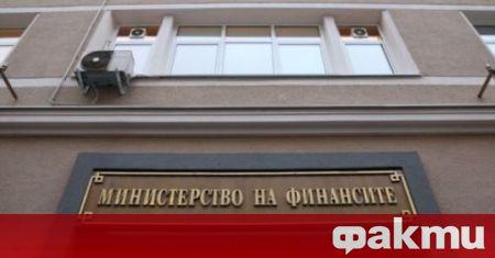 В изпълнение на от 04.06.2021 г. Министерството на финансите публикува
