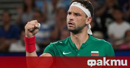 Българската тенис звезда Григор Димитров ще поднови сезона на турнир