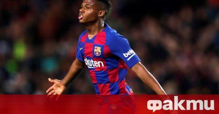 Проблемите на младия талант на Барселона Ансу Фати с лявото