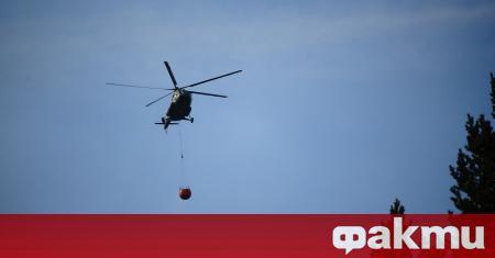 """Вертолет """"Кугър"""" излетя в 7,30 ч. от авиобаза Крумово, за"""