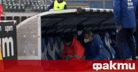 Неприятен инцидент се случи в края на мача между Пескара