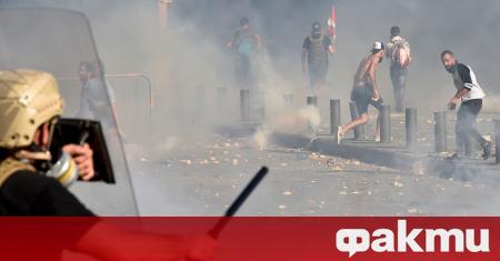 Безредиците, които предизвика протестът на гражданите на Бейрут на 8
