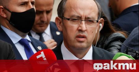 Новият премиер на Косово Абдула Хоти заяви, че ще оглави