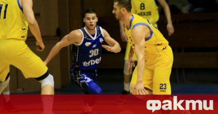 Баскетболният национал Станимир Маринов е дал положителна проба за COVID-19