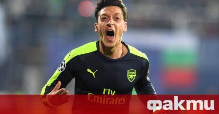 Месут Йозил е предложил на Арсенал да се откаже от