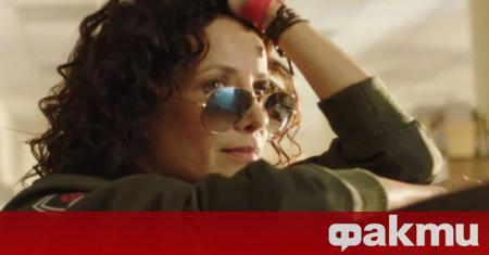 Известната актриса Яна Маринова популяризира сериозно ЦСКА. Направи го в