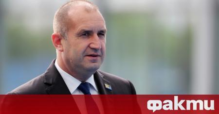 Президентът Румен Радев поздрави българите за Деня на Независимостта. Ето