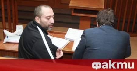 Адвокатът на Димитър Желязков иска клиентът му да бъде преместен