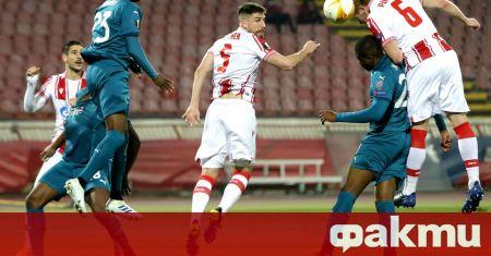 Сръбският шампион Цървена звезда не се даде на Милан, макар