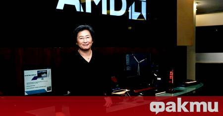 Лиса Сю от AMD е най-високо платеният изпълнителен директор на