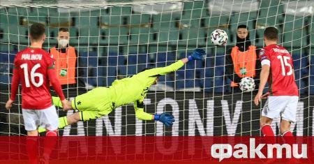 Националният отбор на България спечели първа точка в квалификациите за