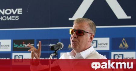 ФК Левски подписа договор с нов рекламен партньор - BELFRY